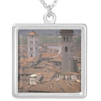 Europa, Italia, Toscana, Lucca, panorama de la ciu Colgante