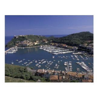 Europa, Italia, Toscana, Oporto Ercole, vista a Tarjetas Postales