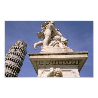 Europa, Italia, Toscana, Pisa. Dei de la plaza Fotografía