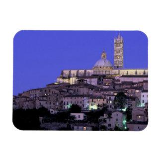 Europa, Italia, Toscana, Siena. décimotercero C. D Imán Foto Rectangular