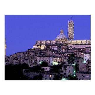 Europa, Italia, Toscana, Siena. décimotercero C. D Tarjeta Postal