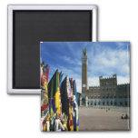 Europa, Italia, Toscana, Siena. Del de la plaza Imán Cuadrado