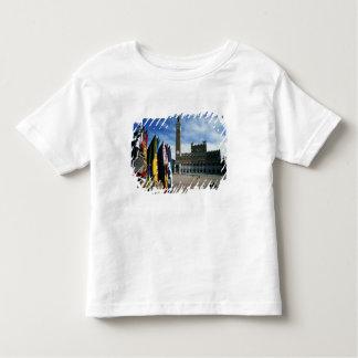 Europa, Italia, Toscana, Siena. Del de la plaza Camiseta
