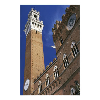 Europa, Italia, Toscana, Siena. Del de Torre Fotografía