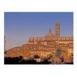 Europa, Italia, Toscana, Siena. Siglo XIII 3 Tarjetas Postales
