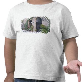 Europa, Italia, Umbría, Civita, casa tradicional Camiseta