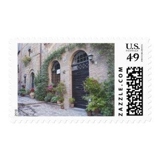 Europa, Italia, Umbría, Civita, casa tradicional Timbre Postal
