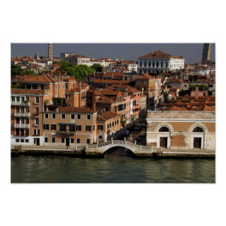 Europa, Italia, Venecia. Opiniones del canal. LA U Impresiones