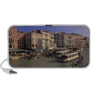 Europa, Italia, Venecia, tráfico del barco por Ria PC Altavoces