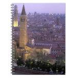 Europa, Italia, Véneto, Verona. Visión desde Caste Libretas