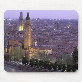 Europa, Italia, Véneto, Verona. Visión desde Caste Tapetes De Raton