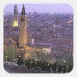 Europa, Italia, Véneto, Verona. Visión desde Calcomanías Cuadradas
