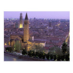 Europa, Italia, Véneto, Verona. Visión desde Postales