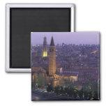 Europa, Italia, Verona, visión desde el Castel S. Imán De Nevera