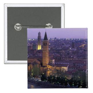 Europa, Italia, Verona, visión desde el Castel S. Pin Cuadrada 5 Cm