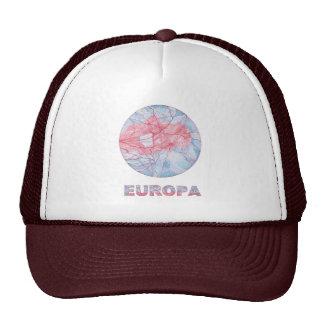Europa Jupiter's Moon Art Cap Trucker Hats