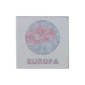 Europa Jupiters Moon Space Geek Colorful Fun Stone Magnet