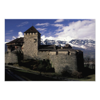 Europa, Liechtenstein, Vaduz. Castillo de Vaduz, 2 Fotografía