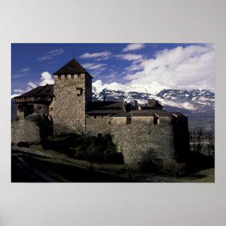 Europa, Liechtenstein, Vaduz. Castillo de Vaduz, 2 Póster