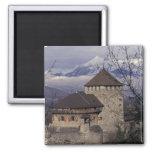 Europa, Liechtenstein, Vaduz. Castillo de Vaduz, Imán De Frigorífico