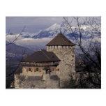 Europa, Liechtenstein, Vaduz. Castillo de Vaduz, Tarjeta Postal