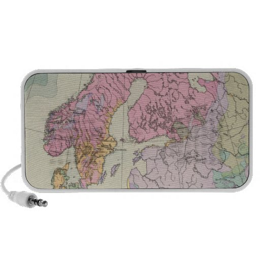 Europa - mapa geológico de Europa Altavoz