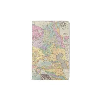 Europa - mapa geológico de Europa Funda Para Libreta Y Libreta Pequeña Moleskine