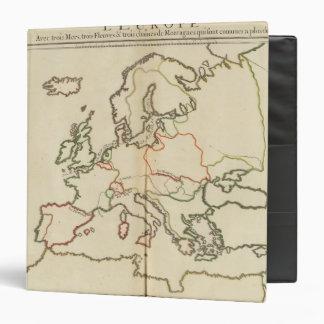 "Europa, montañas y ríos carpeta 1 1/2"""