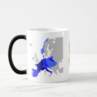 Europa napoleónica 1811 taza mágica