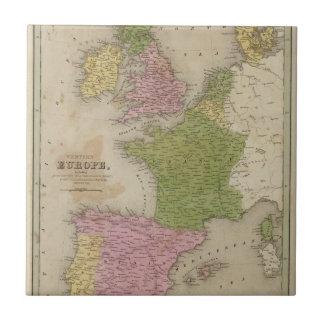 Europa occidental azulejo cuadrado pequeño