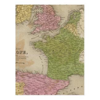 Europa occidental postales