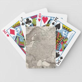 Europa Oriental compuesta, Noruega, Suecia Baraja Cartas De Poker