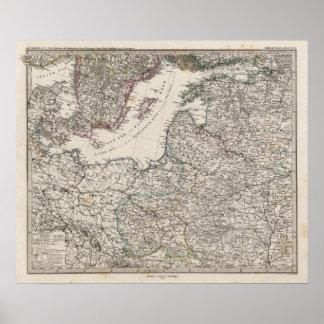 Europa Oriental, Rusia, Suecia Posters