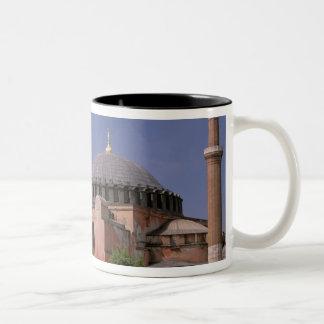 Europa, Oriente Medio, Turquía, Estambul. Aya Taza De Café De Dos Colores