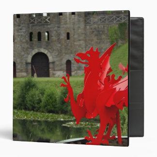 """Europa, País de Gales, Cardiff. Castillo de Cardif Carpeta 1 1/2"""""""