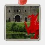 Europa, País de Gales, Cardiff. Castillo de Cardif Adornos