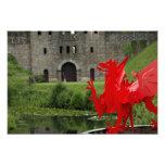Europa, País de Gales, Cardiff. Castillo de Cardif Impresiones Fotográficas