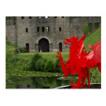 Europa, País de Gales, Cardiff. Castillo de Cardif Postal