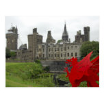 Europa, País de Gales, Cardiff. Castillo de Cardif Tarjeta Postal