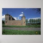 Europa, Países Bajos, castillo de Muiden Muiden Poster