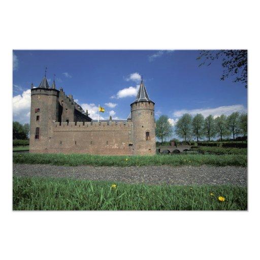 Europa, Países Bajos, castillo de Muiden Muiden Fotografía