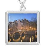 Europa, Países Bajos, Holanda, Amsterdam, Collar Plateado