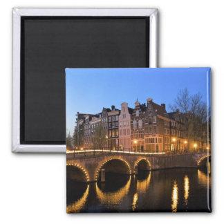 Europa, Países Bajos, Holanda, Amsterdam, Imán Cuadrado