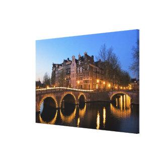 Europa, Países Bajos, Holanda, Amsterdam, Lona Estirada Galerias