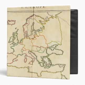"""Europa por la religión carpeta 1 1/2"""""""