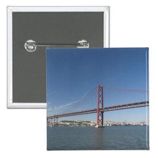 Europa, Portugal, Lisboa aka Lisboa). Ponte Pin Cuadrado