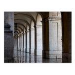 Europa, Portugal, Lisboa. Columnas de la arcada Tarjetas Postales
