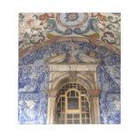 Europa, Portugal, Obidos. Arquitectónico colorido Bloc