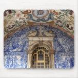 Europa, Portugal, Obidos. Arquitectónico colorido Tapete De Ratones