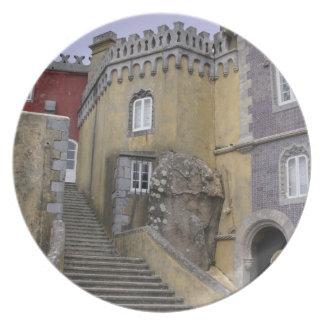 Europa, Portugal, Sintra. El nacional 2 de Pena Platos Para Fiestas